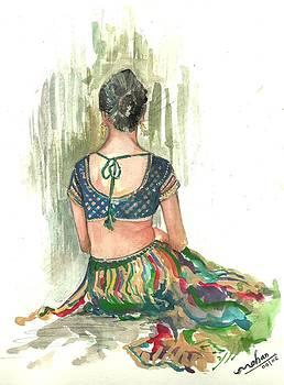 Lady Back by Mohan Kumar