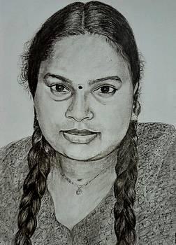 Lady by Bindu N