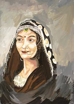 Lady from the hills by Prasida Yerra