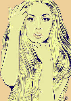 Lady Gaga by Giuseppe Cristiano