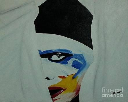 Lady Gaga  by Saman Khan