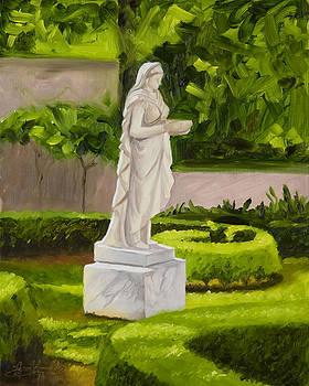 Lady Gandes Garden by Gary  Hernandez