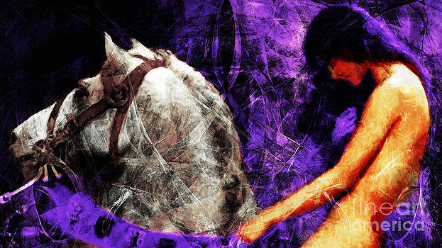 Wingsdomain Art and Photography - Lady Godiva Revisited 20140315v2c3 horizontal long