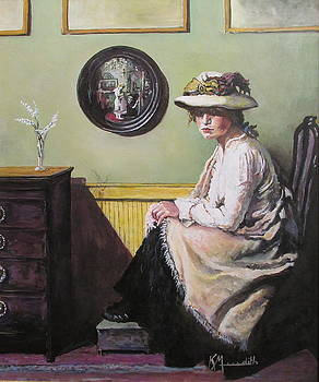 Lady In Hat by Kevin Meredith