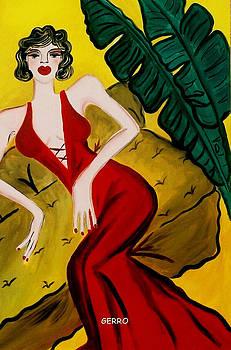 Lady in Red  by Helen Gerro