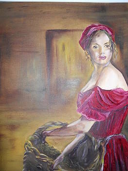 Lady in Red by Joyce Reid