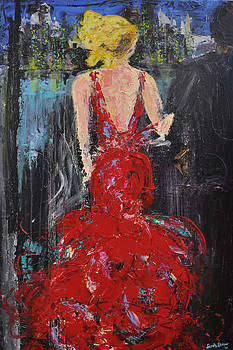 Lady in Red by Sarah Stokes