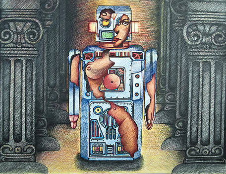 Larry Butterworth - LADY IN THE ROBOT