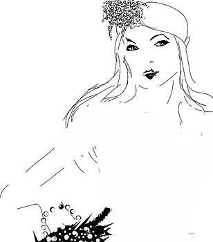 Lady in White by Darlene Watson