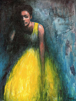 Lady in Yellow by Mariam Pare