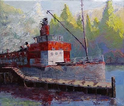 Lady of the Lake TSS Earnslaw by Linda Riesenberg Fisler