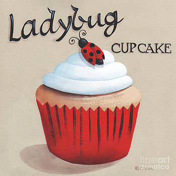 Ladybug Cupcake by Catherine Holman