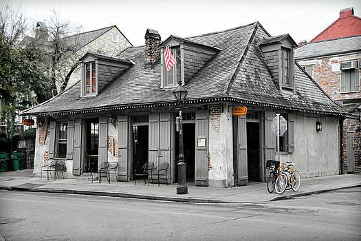 Lafitte's Blacksmith Shop by Lynn Jordan
