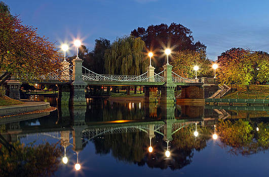 Juergen Roth - Lagoon Bridge in the Boston Public Garden