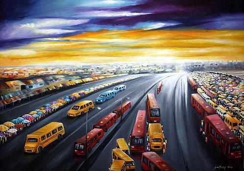 Lagos Traffic by Olaoluwa Smith