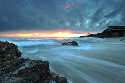 Laguna Beach After Rain by Dung Ma