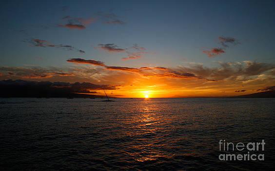 Lahaina Sunset by David Lee
