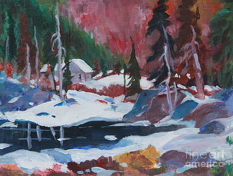 Lake Algonquin Park  revisited by Sherrill McCall