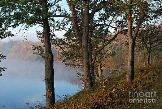 Lake at Deer Creek by Pamela Baker