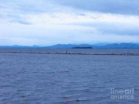 Lake Champlain by Lisa J Gifford