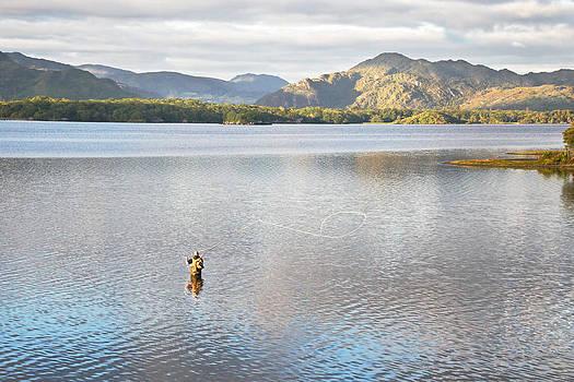 Jane McIlroy - Lake Fishing at Dawn