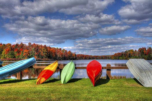 Lake Jean Boat Launch by David Simons