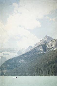 Lake Louise Solitude - Alberta Canada by Lisa Parrish