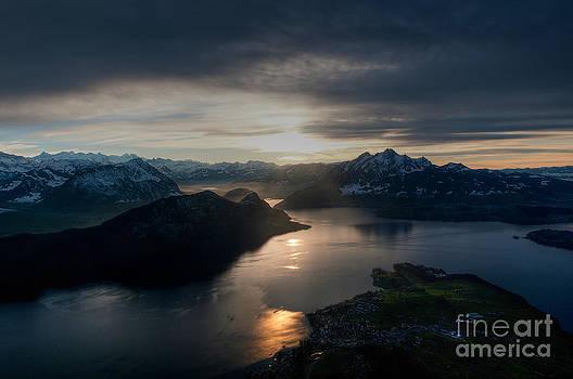 Lake Lucerne by Caroline Pirskanen