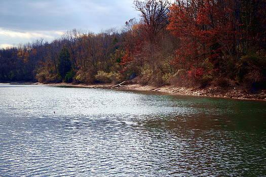 Lake Marlboro in the Fall by Rebecca Smith