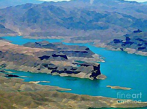 John Malone - Lake Mead Aerial Shot