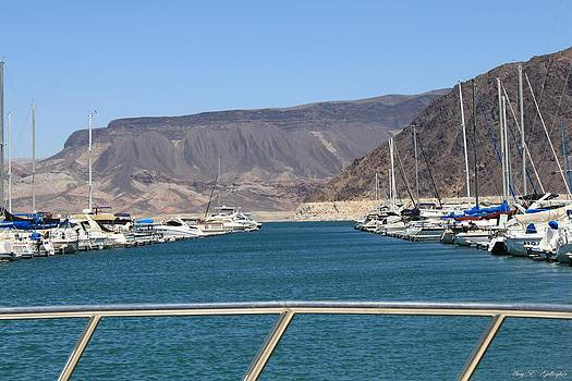 Lake Mead From The Marina by Amy Gallagher