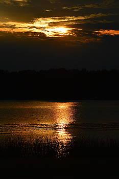 Lake Milton Sunset by Jim Wilcox