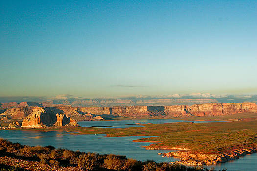 Lake Powell Arizona by Al Blount