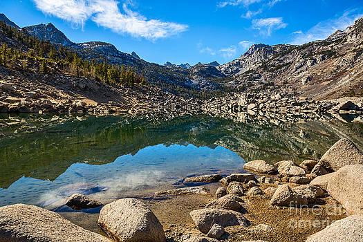 Jamie Pham - Lake Sabrina in Bishop Creek Canyon.