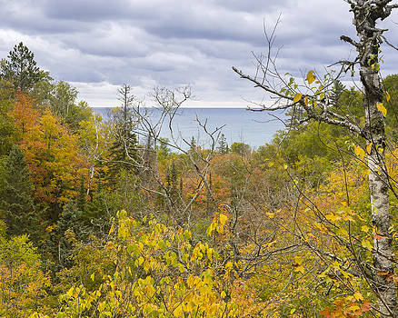 Jack R Perry - Lake Superior in Fall Colors