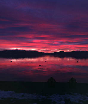 Lake Tahoe Come Sit With Me by Heather Lavoie
