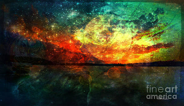 LakeShore Sunset  by Nancy TeWinkel Lauren