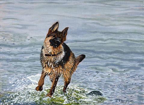 Lakeside Romp I by Jennifer Frampton
