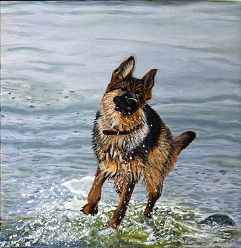 Lakeside Romp II by Jennifer Frampton