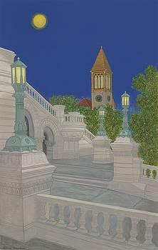 Lamplight by David Hinchen