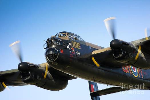 Lancaster Bomber 2 by Alan Oliver