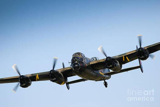 Lancaster Bomber by Alan Oliver