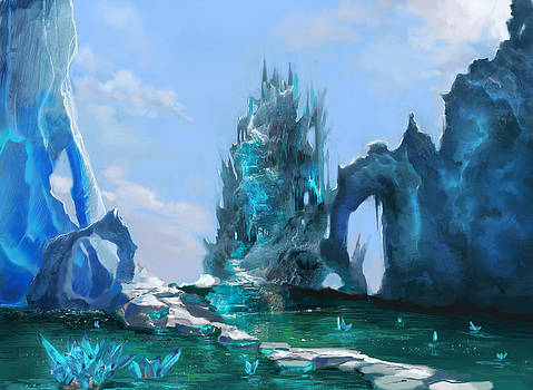 Land of ice by Anastasia Michaels