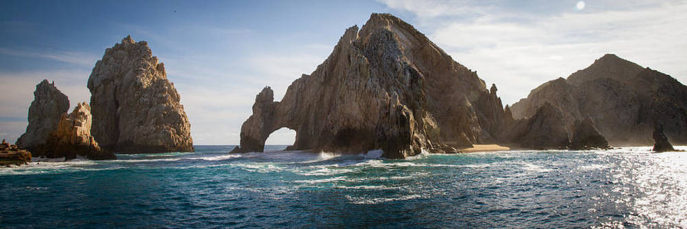 Lands End Panorama Cabo San Lucas by Les Abeyta