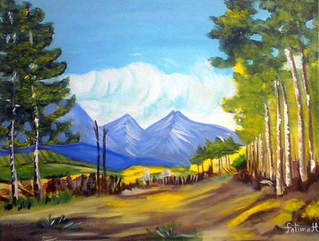 Landscap by Fatima Hameurlaine