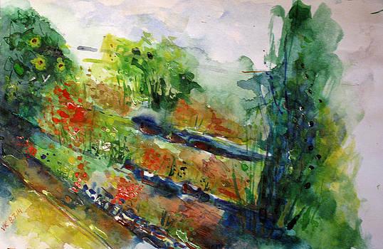 Landscape-4  by Vladimir Kezerashvili
