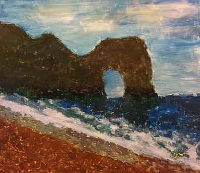 Landscape Beach Mountain Seascape South France by MendyZ