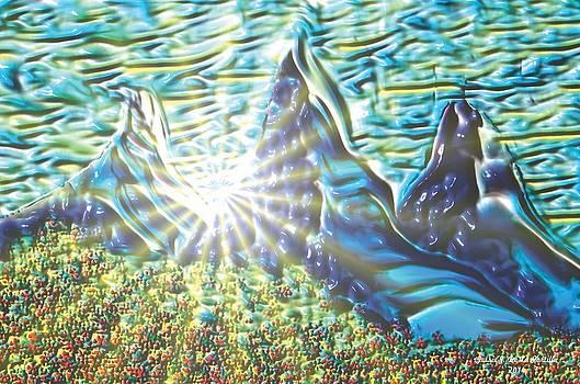 landscape Day Light Pass by Jessie J De La Portillo