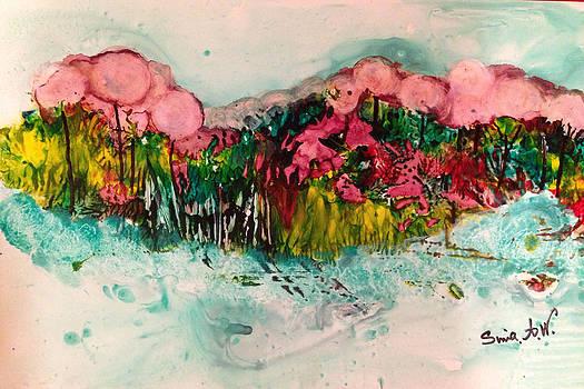 Landscape Three hundred by Sima Amid Wewetzer