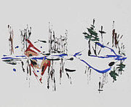 Langdonart MaisonFantome Vue A by Artiste LangdonArt